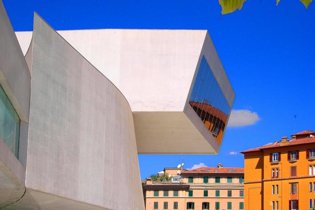 MAXXI - Национальный музей искусства XXI века. Фото:  hillman54 via flickr.com. Лицензия CC BY 2.0