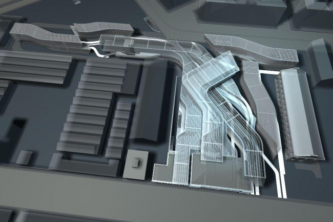 MAXXI – Национальный музей искусства XXI века ©  Zaha Hadid Architects