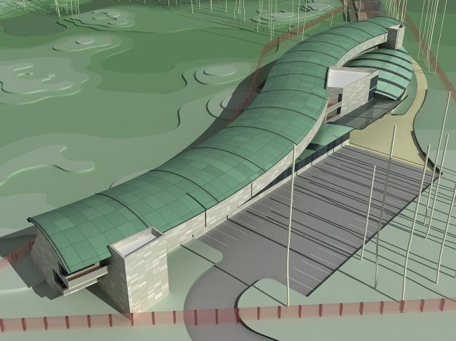 Апарт-хаус и апарт-отель при гольф-клубе «ПЕСТОВО» © Архитектуриум
