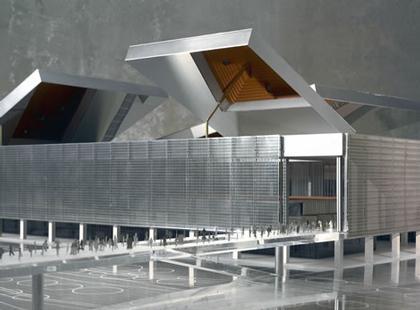Теннисный стадион в Мадриде