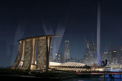 Отель Marina Bay Sands © Safdie Architects