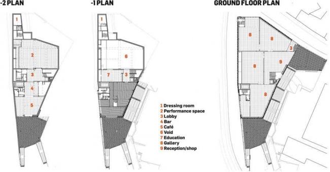 Ноттингемский центр современного искусства © Caruso St John Architects
