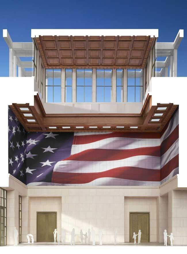 Президентский центр Дж. У. Буша. «Зал свободы» ©  Robert A.M. Stern Architects