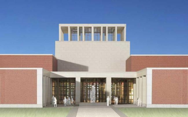 Президентский центр Дж. У. Буша. «Плаза свободы» ©  Robert A.M. Stern Architects