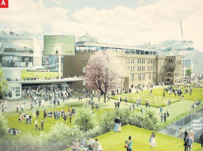Крикетный стадион Лордс - реконструкция