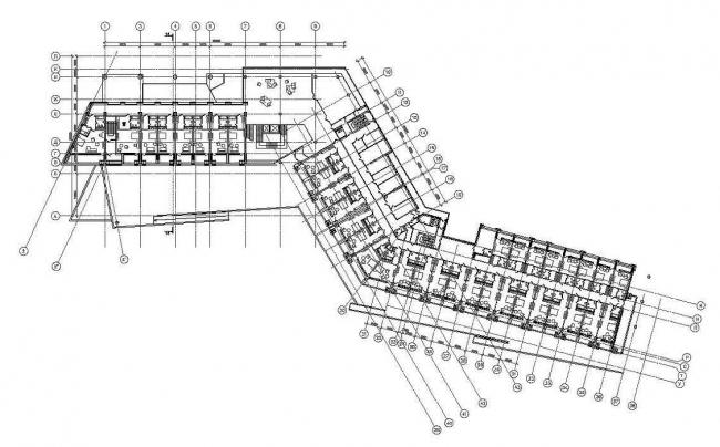 План 2-го этажа. Медицинско-оздоровительный центр