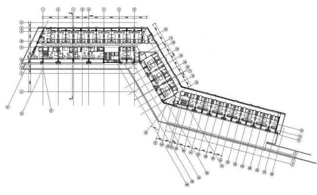 План 3-го этажа. Медицинско-оздоровительный центр