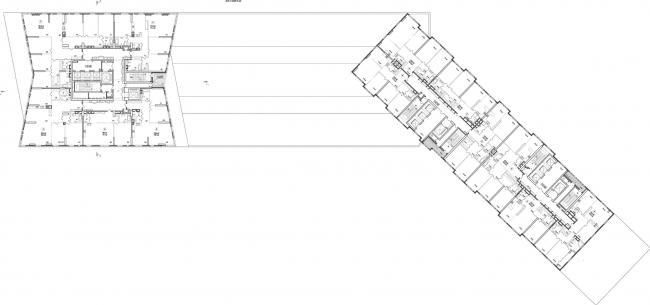 План 29 этажа