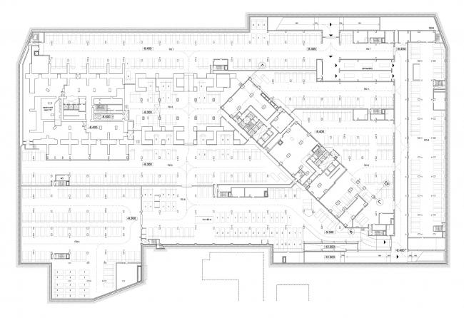 План -1 подземного этажа