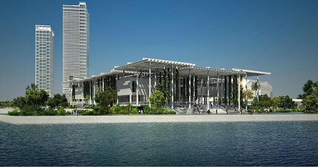 Музей искусства Майами. Проект 2009 г © Herzog and de Meuron