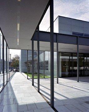 Новое крыло Музея Фолькванг в Эссене. Фото © Wolf Haug