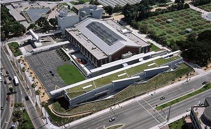 Morphosis. Школа в Лос Анжелесе.