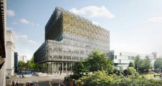Библиотека Бирмингема. Утвержденный проект © Mecanoo
