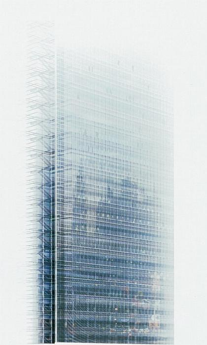 Штаб-квартира «Нью-Йорк Таймс». Фасад. Проект