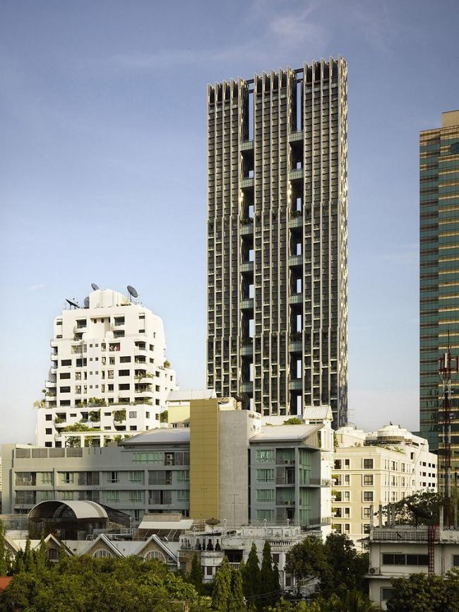"""Проект – победитель раздела """"Housing"""" (Жилье) – Дом """"The Met« в Банкоке, Таиланд. Проект бюро »WOHA"""", Сингапур. Фото: Patrick Bingham-Hall"""