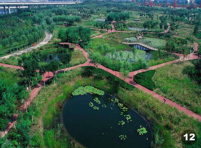 """Проект – победитель раздела """"Landscape"""" (Ландшафт) – Городской парк """"Adaptation Palettes« в Пекине, Китай. Проект »Turen Design Institute"""", Пекин. Фото: Cao Yang Kongjian Yu"""