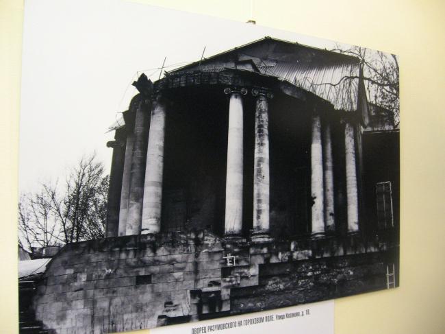 Дворец Разумовского на Гороховом поле, Казакова ул., 18