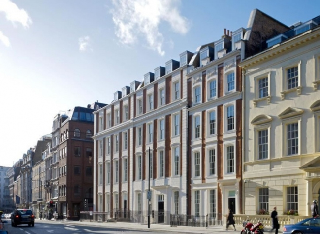 Офисный комплекс 50 New Bond Street © Eric Parry Architects