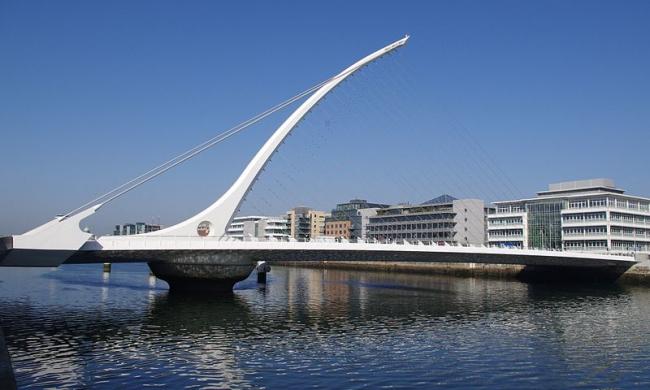 Мост Сэмюэла Бекетта. Фото: Tobias von der Haar via Wikimedia Commons. Лицензия CC-BY-2.0