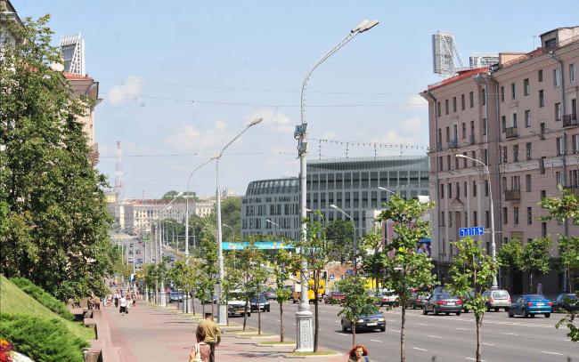 Многофункциональный комплекс с гостиницой Кемпински в Минске