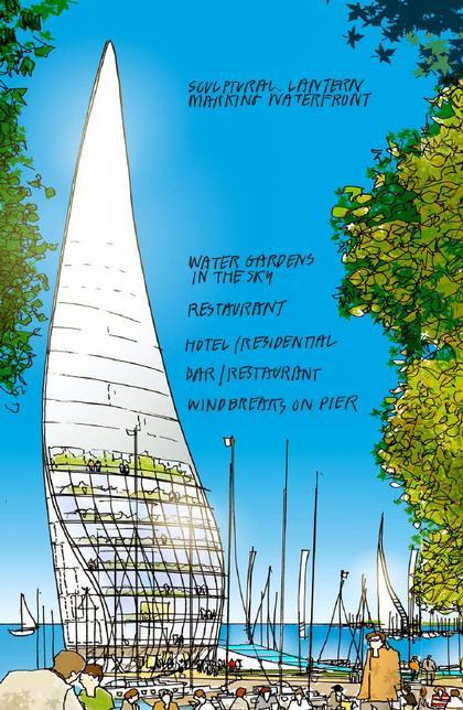 Норман Фостер. Проект Центральной набережной