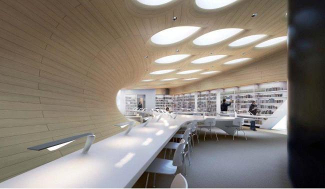 Центр Ближнего Востока Колледжа Сент-Энтони © Zaha Hadid Architects