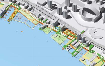 WASAW. Проект Центральной набережной