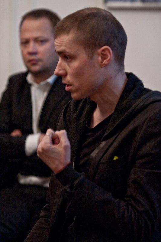 Выступление архитектора Бориса Бернаскони. Фото: Илья Коузов © ПИРогово
