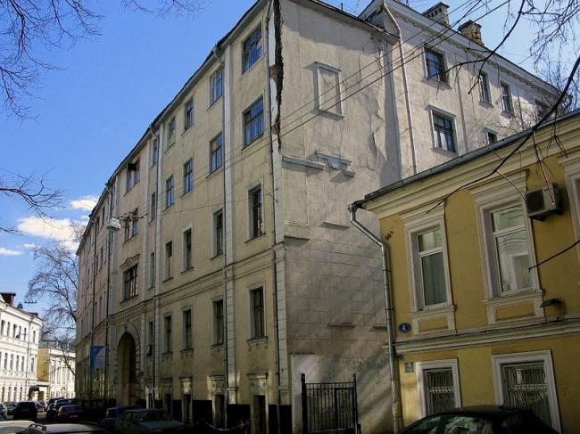 Палаты Гурьева. Потаповский, 6. Фото с сайта «Архнадзор».