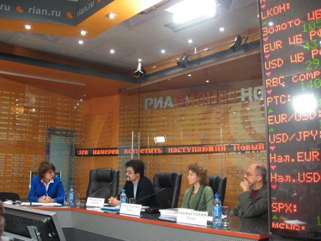 Пресс-конференция «Архнадзора» в РИА Новости