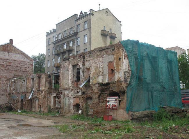 Палаты Зиновьевых, Большой Афанасьевский переулок, 24. Фото с сайта «Архнадзор».