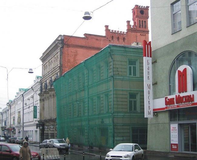 «Расстрельный дом», Никольская, 23. Фото с сайта «Архнадзор».