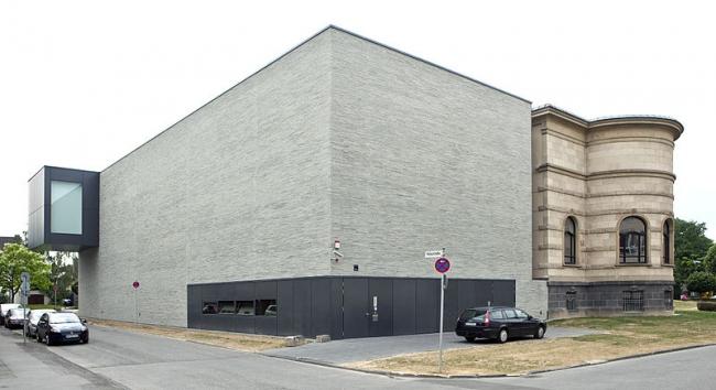 Музей Леопольда Хеша - новое крыло. Фото: Eigenes Werk via Wikimedia Commons. Лицензия CC BY-SA 3.0