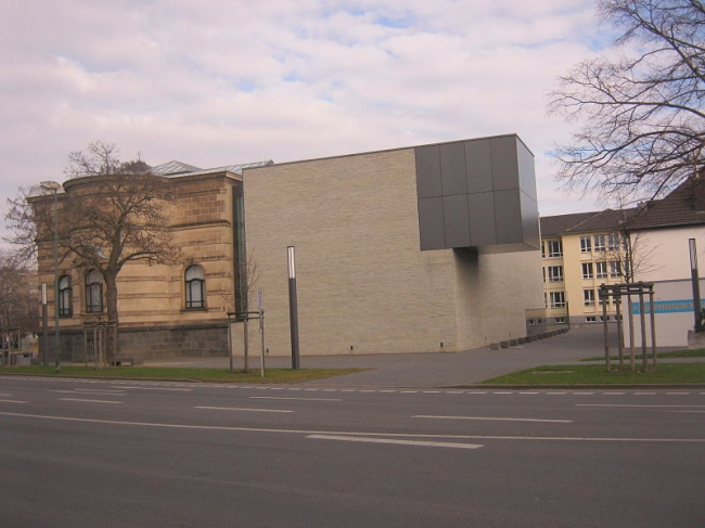 Музей Леопольда Хеша - новое крыло. Фото: Papa1234 via Wikimedia Commons. Лицензия CC-BY-SA-3.0