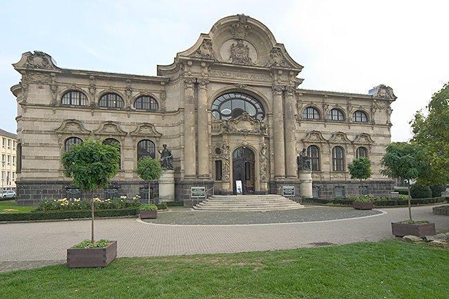 Старое здание музея. 1905