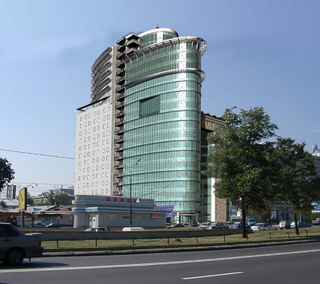 Административное здание на улице Коровий Вал. Проект © мастерская Павла Андреева