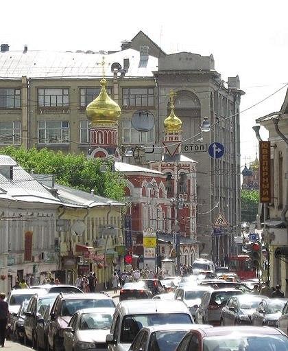 Церковь Всех Святых на Кулишках. Фотографии из архива Е. М. Пашкина