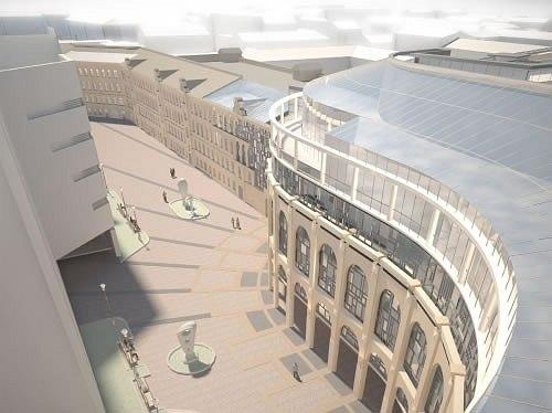 Проект реконструкции Сенной площади.