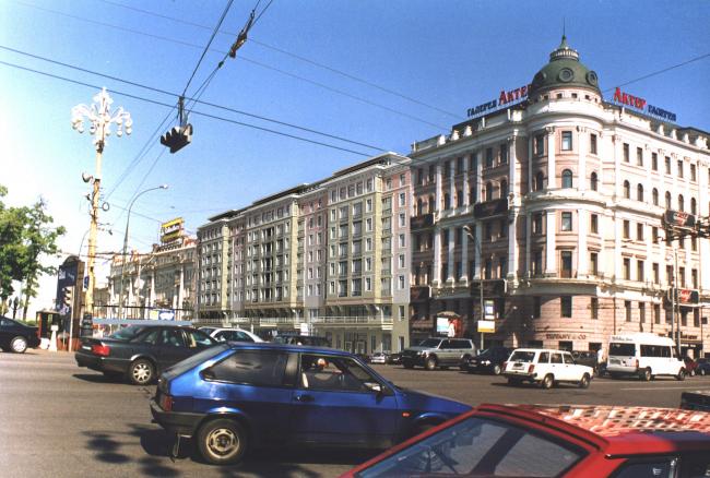 Отель Standart на Пушкинской площади, проект, варианты 2011