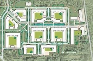 Район Марфино, 2007: мастер-план Джона Томпсона