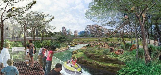 Большой парк Сеула - реконструкция