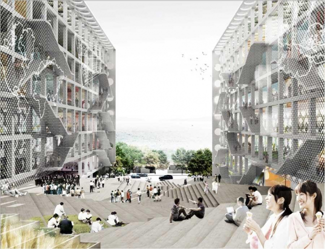 Кампус Колледжа Чу Хай © OMA