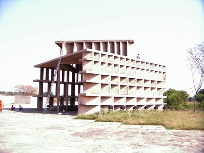 Чандигарх. Башня теней