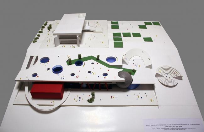 Музей истории космонавтики в Калуге (конкурсный проект второй очереди) © ПТАМ Виссарионова