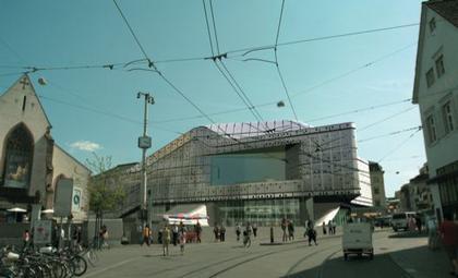Концертный зал в Базеле. Проект 2006г.