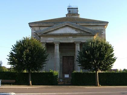 Церковь Сен-Мартен д'Арк-сюр-Тий. Западный фасад