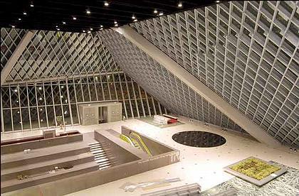 Рем Колхас. Центральная библиотека Сиэтла. Вид интерьера
