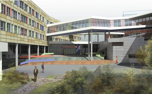 Химико-биологическая школа на 1100 учащихся в Щукино