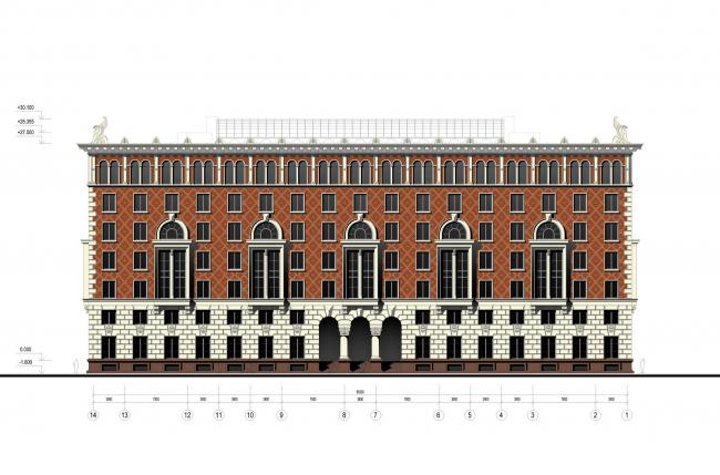 Жилой дом «Венеция» © Евгений Герасимов и партнеры