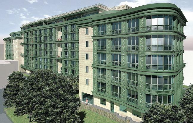 Многофункциональный комплекс – жилой дом в Сытинском тупике и административное здание в Богословском пер.